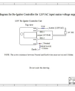 Digital Re-Igniter Flame Sensor Controller Wiring